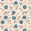 Premier Sadie Wallpaper - Teal and Cream