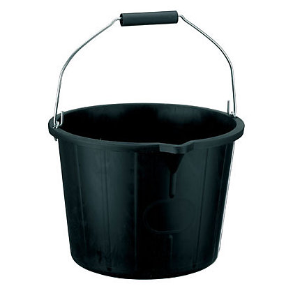 Image for Bucket - Black - 14L from StoreName