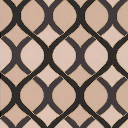 Image for Premier Highbury Wallpaper - Black and Gold from StoreName
