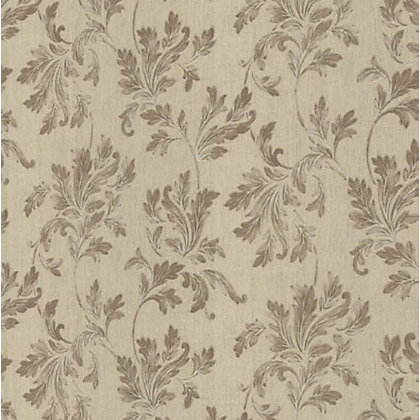 Image for Superfresco Colour Acanthus Wallpaper - Beige from StoreName