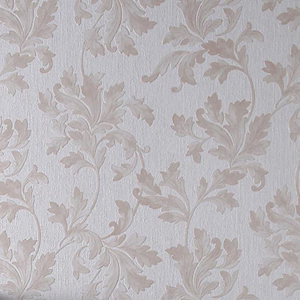 Image for Superfresco Colour Acanthus Wallpaper - Natural from StoreName