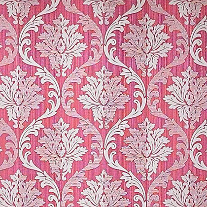 Image for Superfresco Colour Splendour Wallpaper - Red and Cream from StoreName