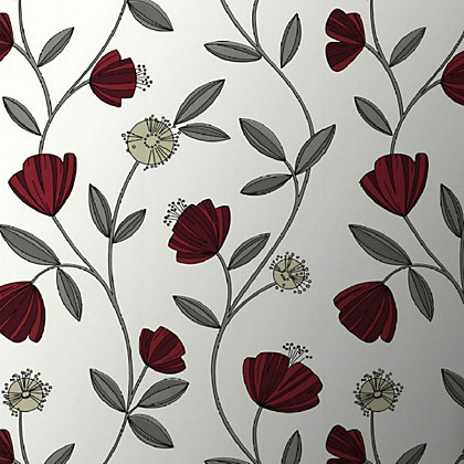 Image for Superfresco Easy Paste the Wall Capri Wallpaper - Red from StoreName