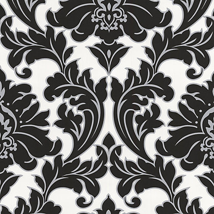 Wallpaper damask textured floral wallpaper homebase for Wallpaper homebase