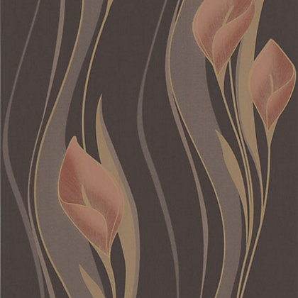 Image for Superfresco Easy Paste the Wall Peace Wallpaper - Chocolate and Orange from StoreName