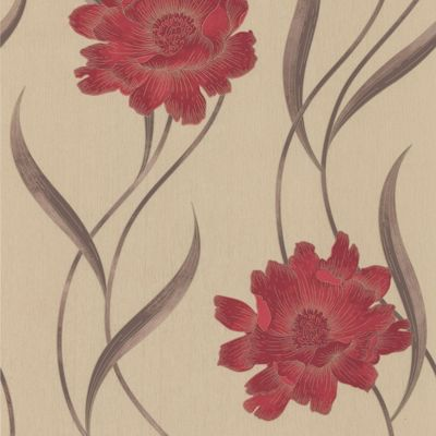 Superfresco flower wallpaper - Butterfly wallpaper homebase ...