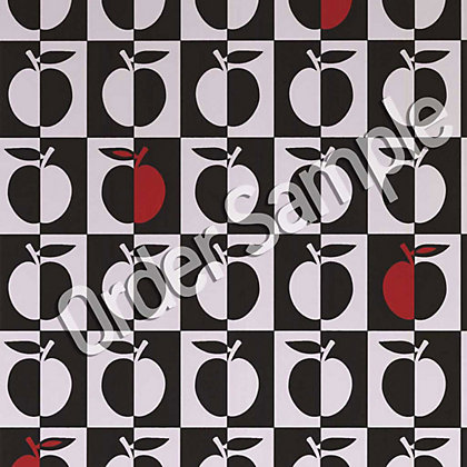 Image for Sample Contour Orchard Wallpaper - Black White and Red from StoreName