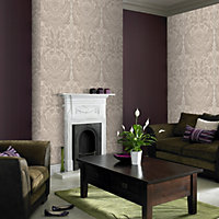 Sample G and B Desire Wallpaper - Taupe