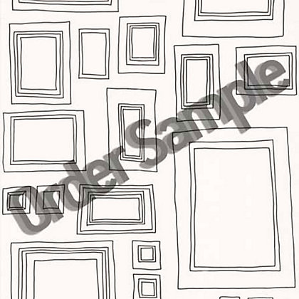 Image for Sample G and B Frames Wallpaper - White from StoreName