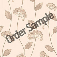 Sample Premier Claire Wallpaper - Beige