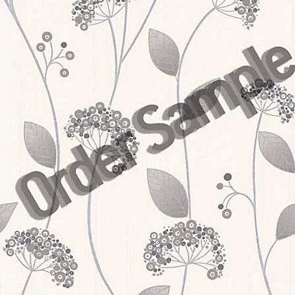 Image for Sample Premier Claire Wallpaper - Grey from StoreName