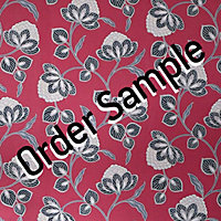 Sample Premier Nadira Wallpaper - Red