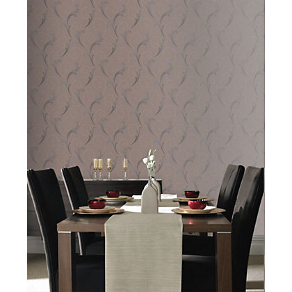 Image for Sample Premier Serenata Wallpaper - Mocha from StoreName