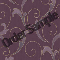 Sample Premier Serenata Wallpaper - Plum