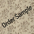 Sample Superfresco Colour Acanthus Wallpaper - Beige
