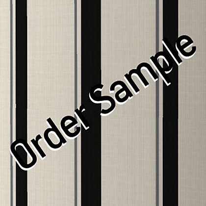 Image for Sample Superfresco Colour Barley Stripe Wallpaper - Black and Mica from StoreName