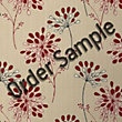 Sample Superfresco Colour Burst Wallpaper - Red