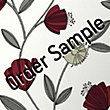 Sample Superfresco Easy Capri Wallpaper - Red