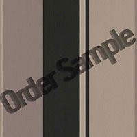 Sample Superfresco Poise Spice Wallpaper - Black and Gold