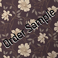 Sample Superfresco Textured Camille Wallpaper - Amethyst