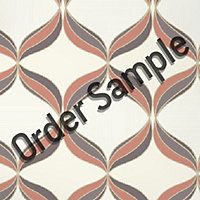 Sample Superfresco Textured Mika Wallpaper - Orange