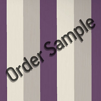 Image for Sample Superfresco Textured Stria Wallpaper - Plum from StoreName