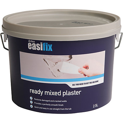 Image for Artex Easifix Ready Mixed Plaster - 2.5L from StoreName