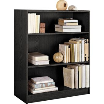 Adjustable Shelves Storage Bookcase Homebase Co Uk
