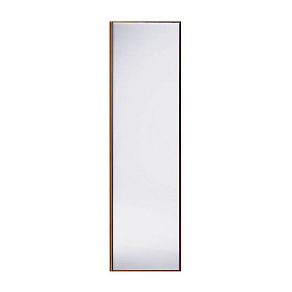 Image for Classic Wood Walnut Frame Mirror Sliding Door - 762mm from StoreName
