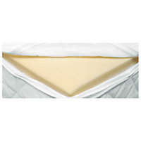 Living Luxury Memory Foam Mattress Topper - Double.