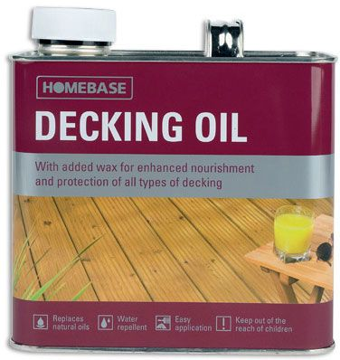 Homebase Decking Oil - 2.5L