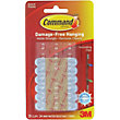 3M Command Self-adhesive Outdoor Decorating Clips - 20 Pack