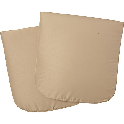 Image for Panama and Mali Stacking Chair Seat Cushions (Pack of 2) from StoreName