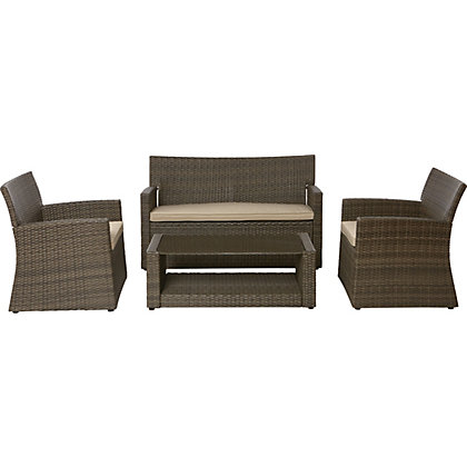 Mali sofa set for Outdoor furniture homebase