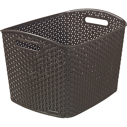 Image for Curver My Style Xtra Large Storage Basket -  Brown from StoreName