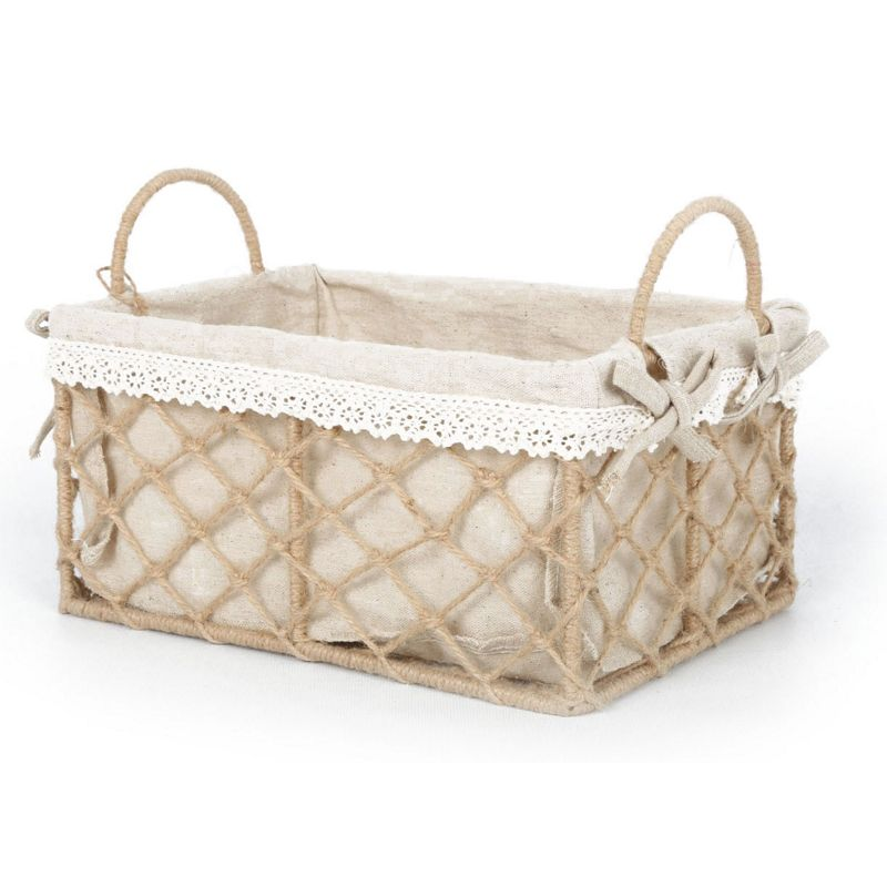 How To Weave A String Basket : Medium woven string basket