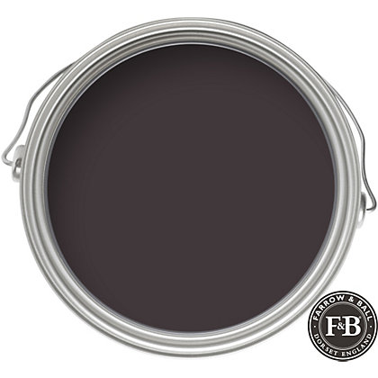 Image for Farrow & Ball Estate No.36 Mahogany - Eggshell Paint - 2.5L from StoreName