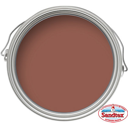 Image for Sandtex Brick Red - Smooth Masonry Paint - 150ml from StoreName