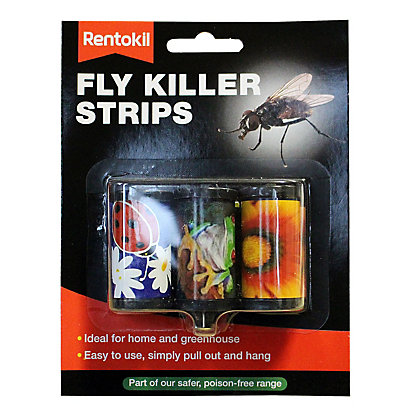Image for Rentokil Fly Killer Strips  (Pack of 3 strips) from StoreName