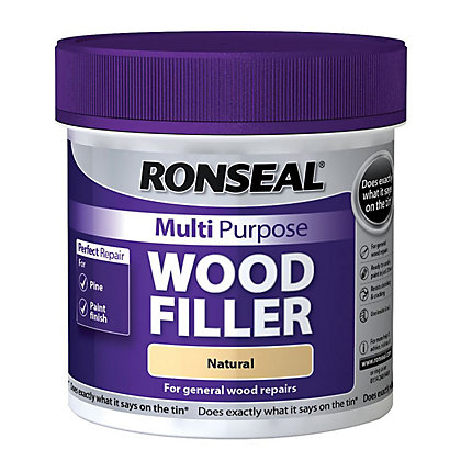 Image for Ronseal Multipurpose Wood Filler Tub - Natural - 465g from StoreName