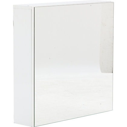 Image for Charlton Mirror Cabinet White from StoreName