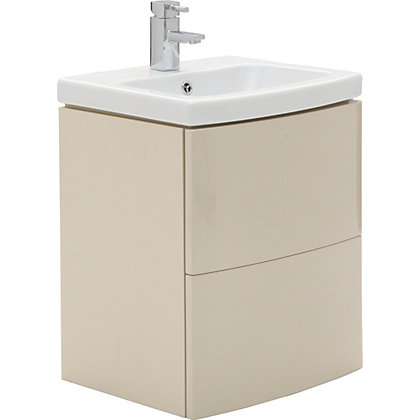 Image for Charlton Vanity Unit 60cm Cappuccino from StoreName