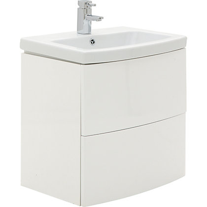 Image for Charlton Vanity Unit 60cm White from StoreName
