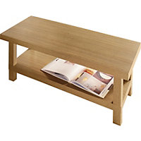 Stratford Chunky Coffee Table - Oak Effe