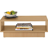 Cubes Coffee Table - Beech Effect.