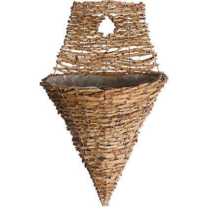 Image for Rattan Wall Cone - 30Cm from StoreName