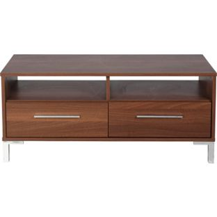 Sienna 2 Drawer Entertainment Unit - Homebase