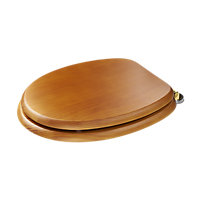 Douglas Sit Tight Toilet Seat Antique Pine Finish