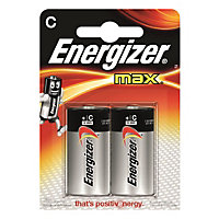Energizer Max Alkaline C Battery - 2 Pack
