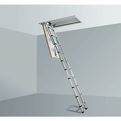 Image for Telesteps Adjustable Loft Ladder from StoreName